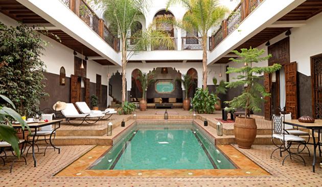 Riads, Résidences, Maisons d'hôtes au Maroc