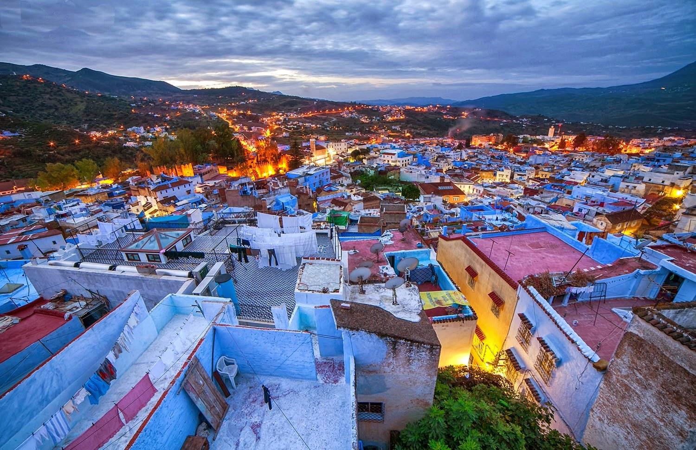 Chefchaouen - ville bleue